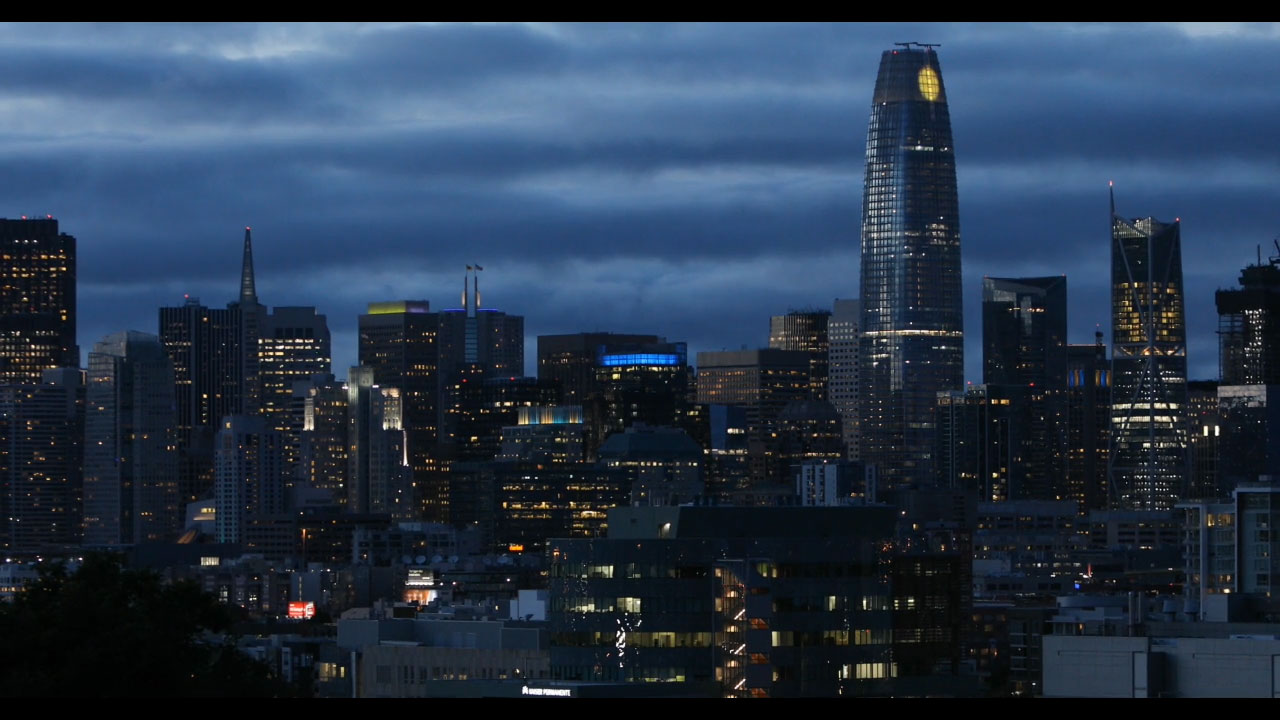 "Artist Jim Campbell's ""Day for Night"" Transforms the San Francisco Skyline With the Largest Public Art Work in the Nation"