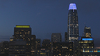 """Artist Jim Campbell's """"Day for Night"""" Transforms the San Francisco Skyline With the Largest Public Art Work in the Nation"""