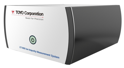 TOYO's LT1000 Ion Impurity Measurement System (Photo: Business Wire)