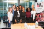 Key leaders from Black PR Wire and Business Wire at the ``Brands in Demand'' Mixer (Photo: Ricardo Reyes, Black PR Wire)