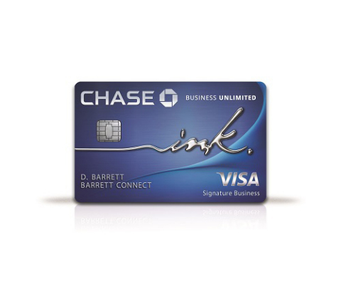 New Ink Business Unlimited card from Chase (Photo: Business Wire)