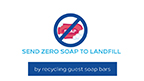 Hilton is expanding its soap recycling program to send zero soap to landfill