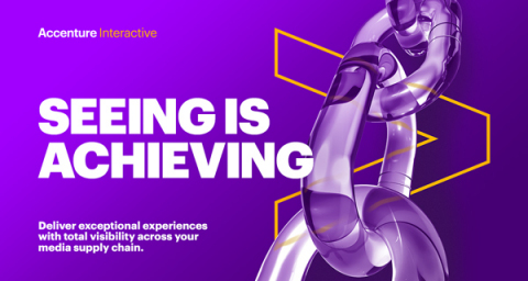 Accenture Interactive Programmatic Services delivers exceptional experiences with total visibility across brands media supply chain (Graphic: Business Wire)
