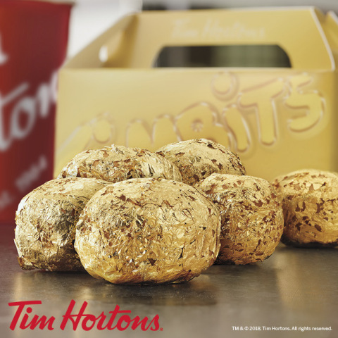 STRIKE GOLD THIS NATIONAL DONUT DAY AT TIM HORTONS® U.S. (Photo: Business Wire)