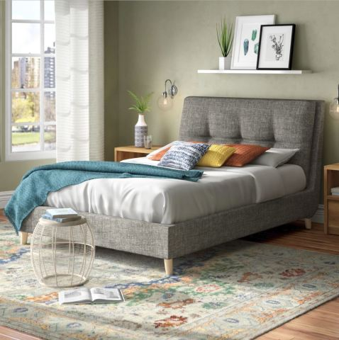 Digitally-rendered lifestyle image featuring 3D models of Wayfair furniture and decor (Photo: Business Wire)