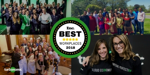 Turbonomic Named One of Inc. Magazine's Best Workplaces in 2018 (Photo: Business Wire)