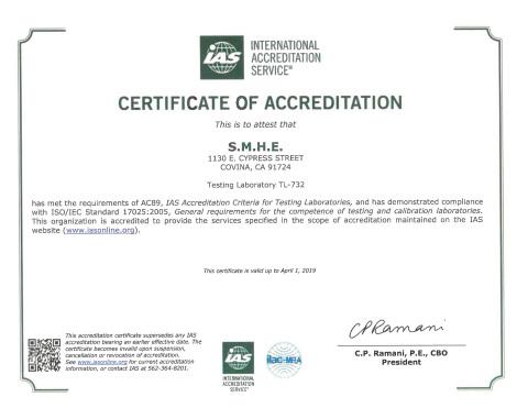 Seizmic, Inc. earns IAS accreditation