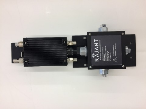 Rajant Now Offers C1D2 Intrinsically Safe Kinetic Mesh Wireless Radio: The ME4-2450R-C1D2 (Photo: Business Wire)