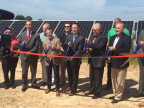 WGL Energy, Sol Systems and other solar project partners join Danville Utilities, the mayor of Danville and local officials to celebrate the completion of a 6 megawatt (MW) solar facility in Virginia's Danville Utilities territory.  The system is the largest municipal solar project in Virginia and WGL Energy's first solar project in the Commonwealth. (Photo: Business Wire)