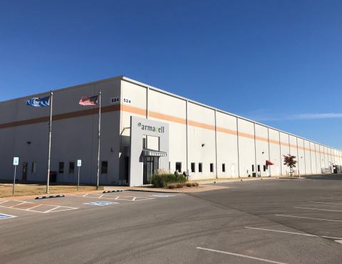 524 Sara Rd, one of two Class A warehouses acquired in OKC by Sealy (Photo: Business Wire)