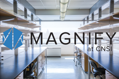 Magnify at CNSI provides startup companies with the necessary tools and space to perform hands-on research and development to advance their product. (Graphic: Business Wire)