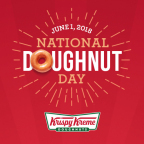 Get Your Favorite Doughnut for Free at Krispy Kreme Doughnuts on National Doughnut Day, June 1. (Photo: Business Wire)