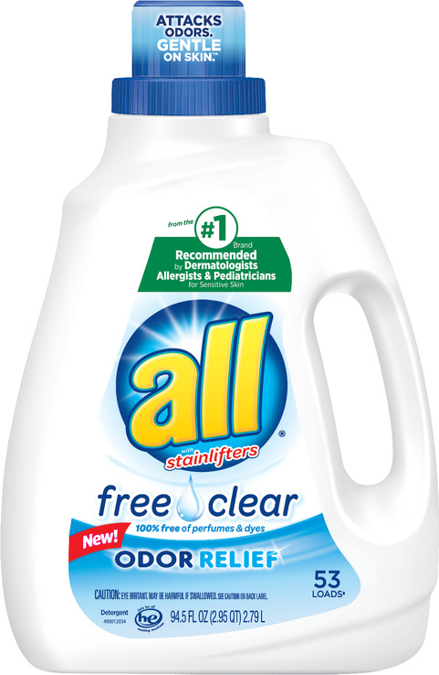 all laundry detergent freshens up the detergent aisle with new odor