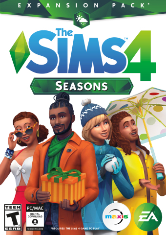 Enjoy Year-Round Seasonal Fun with The Sims 4 Seasons, Available on June 22 (Graphic: Business Wire)