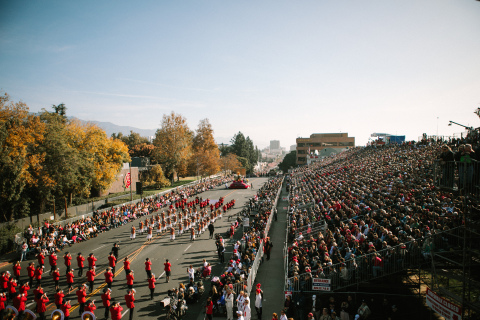 Tournament of Roses® Continues Its March Forward with the Creation of the First Ever Rose Parade® Development Office. Photo credit: Michelle Mishina Photography