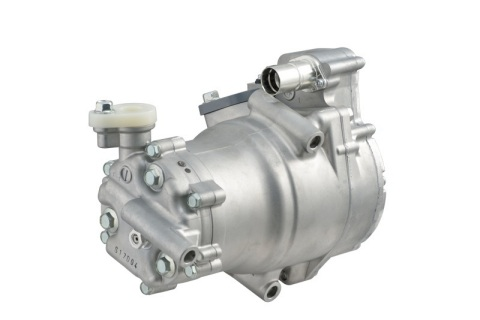 Electric Compressor for Automotive Air Conditioners (Photo: Business Wire)