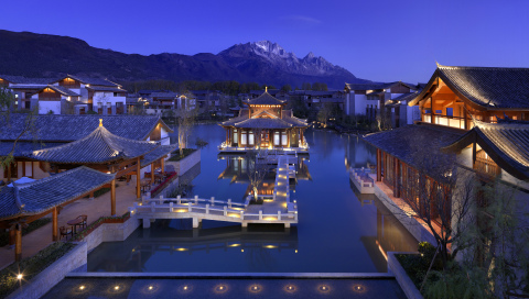 View from Jinmao Hotel Lijiang. (Photo: Business Wire)