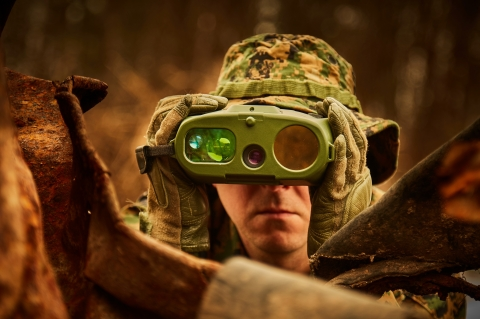 FLIR Recon V UltraLiteは、特徴的な熱を検知して軍隊、国境警備隊、法執行機関に夜間視認能力を与えるフリアーの最新サーマル単眼鏡です。(写真:ビジネスワイヤ)