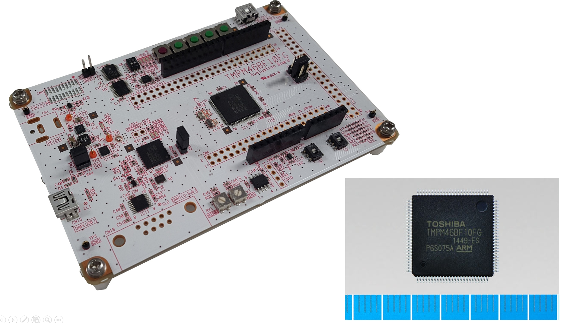 Toshiba's Arm® Cortex®-M Core-Based Microcontrollers Support