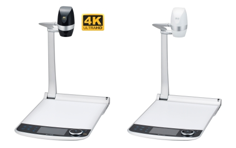 The PX-30 (left) and PX-10 (right) Visual Presenters by ELMO are set to be the most powerful document cameras on the market. (Photo: Business Wire)