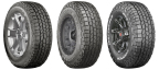 Cooper Tire is launching an all-new Discoverer AT3™ line of tires for SUVs, light duty pick-ups and medium-to-heavy duty trucks. The Discoverer AT3 line includes three distinct all-season, all-terrain tires that will be available to consumers later this summer. (Photo: Business Wire)