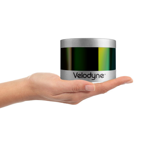 Velodyne's PUCK™ VLP-16 sensor is the smallest, newest, and most advanced product in Velodyne's 3D LiDAR product range. (Photo: Business Wire)