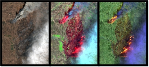 Frequently updated multi-spectral imagery available through the Esri's ArcGIS Living Atlas of the Wo ...