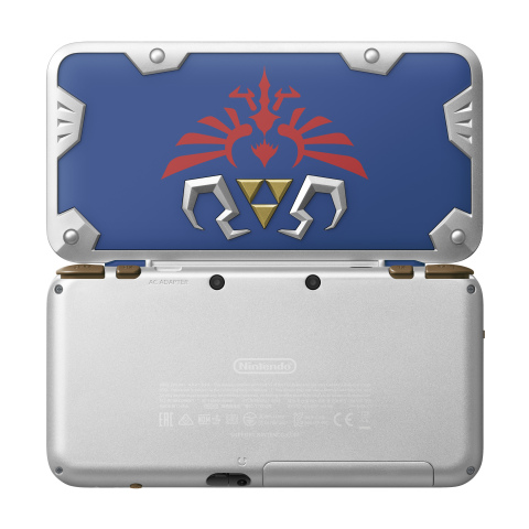 New Nintendo 2DS XL Hylian Shield Edition is the ideal portable system for any type of gamer – especially ones looking to dive into The Legend of Zelda series for the first time. (Photo: Business Wire)