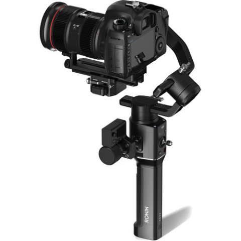 The DJI Ronin-S is designed for DSLR and mirrorless cameras, the Ronin-S combines advanced stabilization, precision control, and manual focus control capabilities in a compact, single-handed form factor. With the Ronin-S, creators can shoot with the freedom of stabilized shots on the move. (Photo: Business Wire)