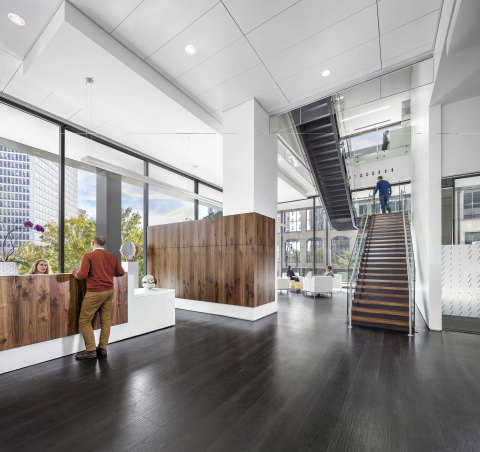 EYP Atlanta office, 100 Peachtree Street, downtown Atlanta, Georgia. (Photo: Business Wire)