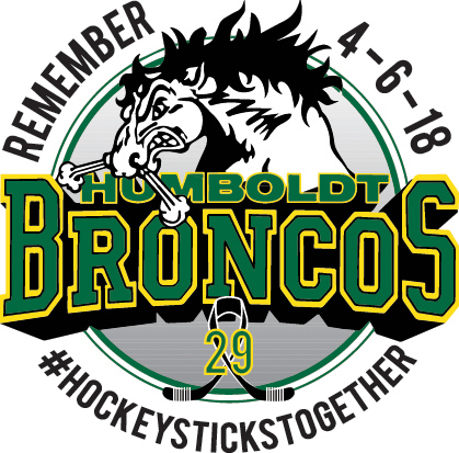 Esmark, Inc. has developed and produced a decal sticker memorializing all of those impacted by the 4-6-18 Humboldt Broncos bus accident. Esmark has assumed all costs to produce and distribute the decals, which are now available to the public, free of charge. (Graphic: Business Wire)