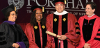 Left to right: Gemma Solimene, Sherrilyn Ifill, Vincent R. Cappucci and Dean Matthew Diller (Photo: Business Wire)