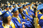 Walmart's New Education Benefit Puts Cap and Gown within Reach for Associates Benefit includes free college credit for Walmart Academy training and options for associates to earn a college degree without incurring student loan debt. (Photo: Business Wire)