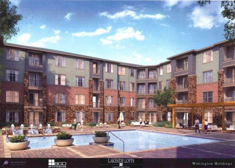 Lakeside Lofts apartments located in Mercer Crossing development in Dallas, Texas (Photo: Business Wire)
