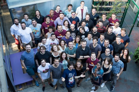 The Gram Games Team (Photo: Business Wire)