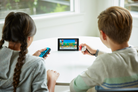 Play Pokémon: Let's Go, Pikachu! and Pokémon: Let's Go, Eevee! cooperatively anytime, anywhere on one system. (Photo: Business Wire)