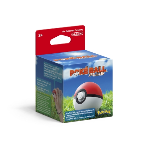 Poké Ball Plus allows players to control their journey in Pokémon: Let's Go, Pikachu! and Pokémon: Let's Go, Eevee!, combining motion controls, a pressable Control Stick and Top Button to create a truly immersive Pokémon adventure. (Photo: Business Wire)
