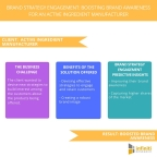 Brand Strategy Engagement Boosting Brand Awareness for an Active Ingredient Manufacturer. (Graphic: Business Wire)