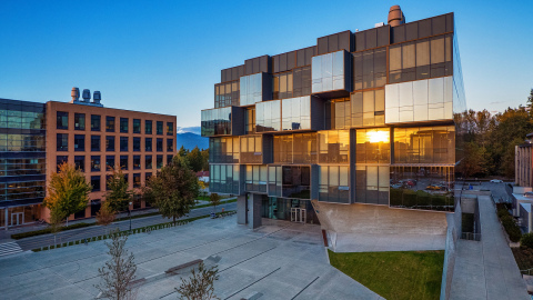 Home of Microbiome Insights, Inc.: UBC's Pharmaceutical Sciences Building (Photo: Business Wire)