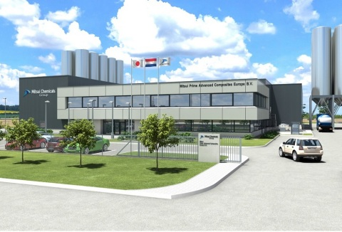 Image of new factory in the Netherlands (Photo: Business Wire)