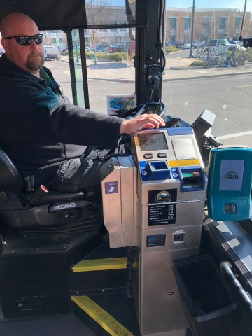 LECIP Farebox in RVTD buses (Photo: Business Wire)