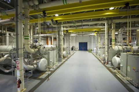 Usine de réfrigération du Tunnel sous la Manche de Sangatte (Photo: Business Wire)