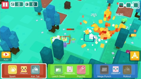 Set off for adventure in the Pokémon Quest game. (Photo: Business Wire)