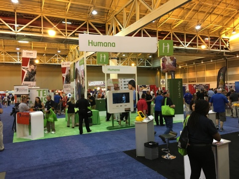 Humana has expanded its partnership with the VFW since its participation in the 2017 VFW National Convention in New Orleans. Veterans and their families can visit both Humana and CarePlus Health Plans at the 2018 VFW National Convention July 21-25 in Kansas City, MO. (Photo: Business Wire)