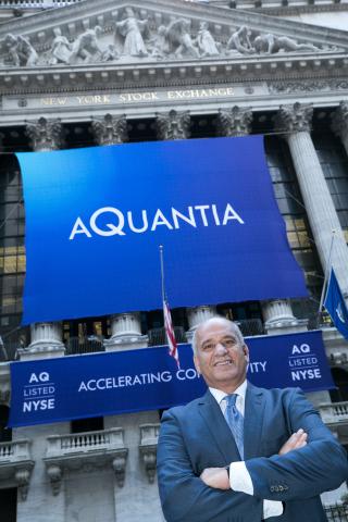 Aquantia CEO Faraj Aalaei to Keynote at GSA European Executive Forum (Photo: Business Wire)
