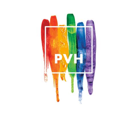 PVH Pride Logo 2018 (Graphic: Business Wire)