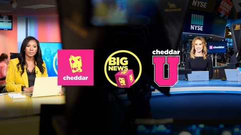 """CheddarU"" Comes to Nine Million Students on over 600 Campuses via 1,600 Screens in Public Spaces and Campus Cable Networks (Photo: Business Wire)"