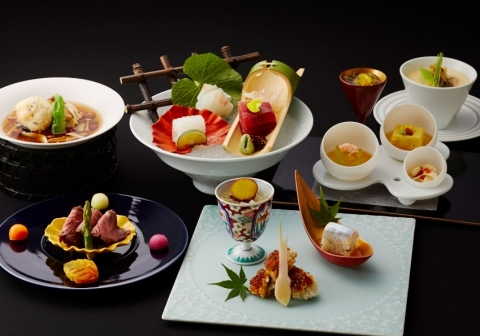 Japanese Dinner Using Arita and Imari Porcelain (Photo: Business Wire)