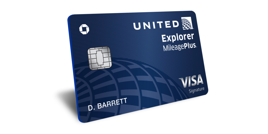 new united explorer card cardmembers are now rewarded in the air and on the ground business wire - United Visa Credit Card