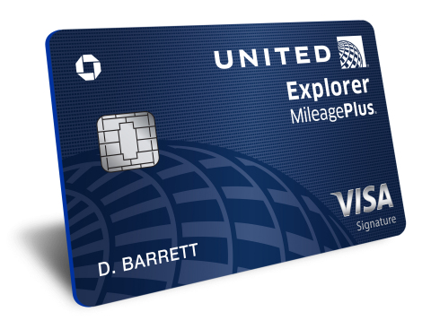 United Explorer Card (Photo: Business Wire)